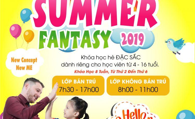 Chương trình anh văn hè 2019